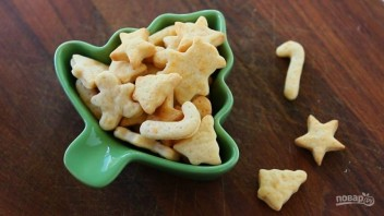 Сырные крекеры на масле - фото шаг 7