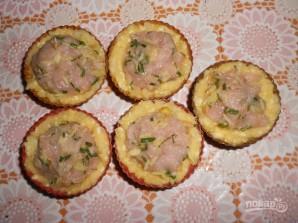 Тефтели в картофельных корзиночках - фото шаг 5