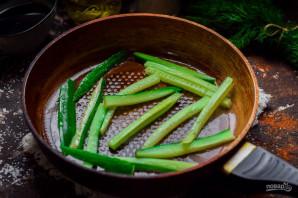 Жареные огурцы по-японски - фото шаг 3