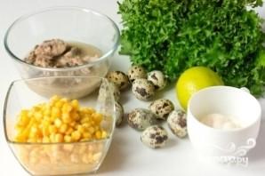 Салат из сардины в масле - фото шаг 1