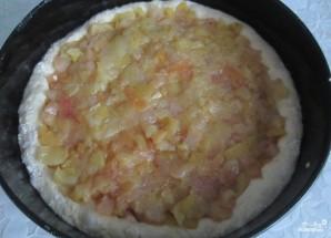 Дрожжевой яблочный пирог - фото шаг 2