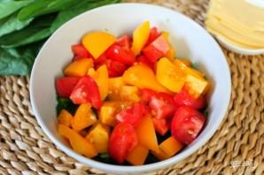 Салат из помидоров со шпинатом - фото шаг 4