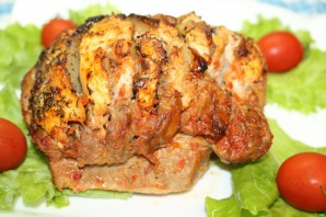 Мясо, запечённое гармошкой - фото шаг 14