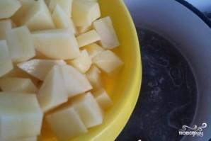Сырный суп со свининой - фото шаг 3