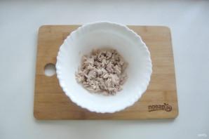 Мясной салат с маринованным луком - фото шаг 5