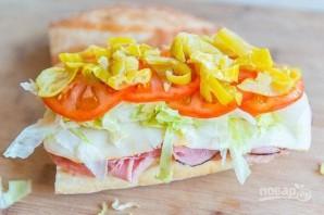 Итальянский клубный сэндвич - фото шаг 5