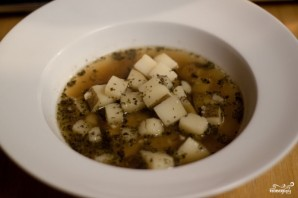 Чешский чесночный суп - фото шаг 5