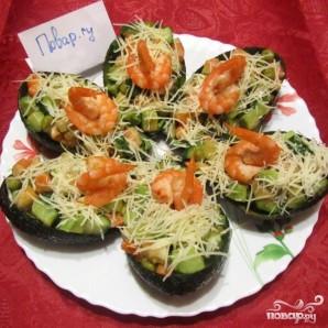 Салат с авокадо и креветками - фото шаг 4