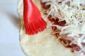 """Закрытая пицца """"Стромболи"""" - фото шаг 5"""