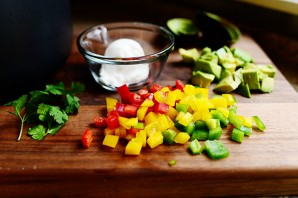 Суп из черной фасоли и овощей - фото шаг 9