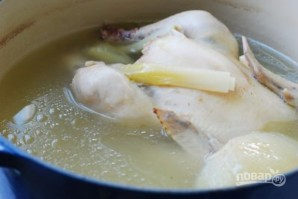 Суп с домашней лапшой - фото шаг 6