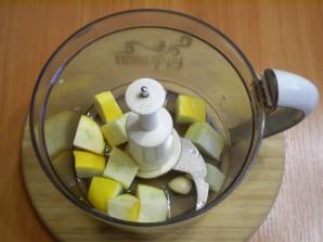 Сыроедческий суп из кабачков - фото шаг 2