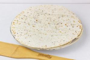 Тортилья с сыром - фото шаг 5