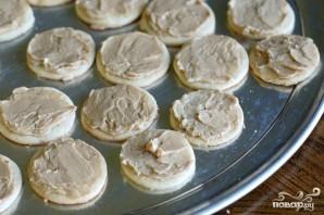 Печенье с кремом мокко и орехами - фото шаг 4
