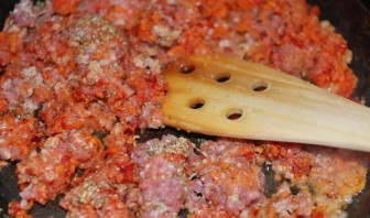 Патиссоны, фаршированные в духовке - фото шаг 5