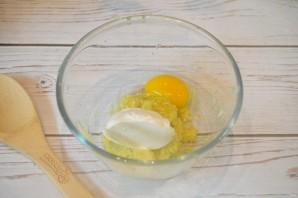 Оладьи из замороженных кабачков - фото шаг 4