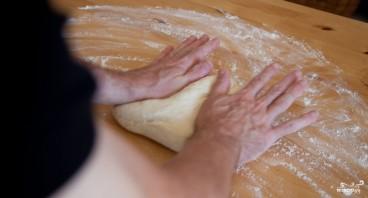Тесто для пиццы дрожжевое  - фото шаг 3