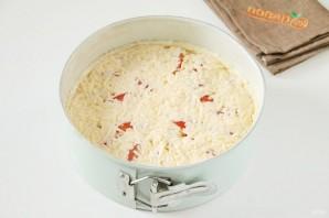 Французский пирог с кукурузой и помидорами - фото шаг 9