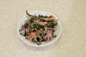 Маринованные осьминоги - фото шаг 4