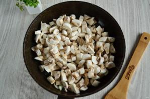 Лазанья из лаваша с грибами - фото шаг 3