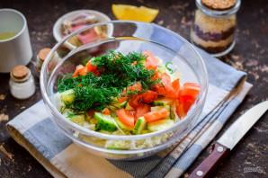 Салат из китайской капусты - фото шаг 5