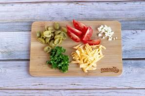 Паста с помидорами и маслинами - фото шаг 2