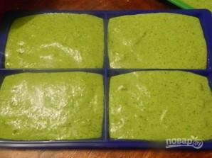 Диетические зеленые вафли с мороженым - фото шаг 5