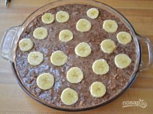 Шоколадная овсянка с бананом - фото шаг 6