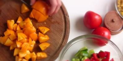 Легкий салат по-мексикански - фото шаг 1