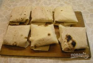 Бутерброд из лаваша - фото шаг 4