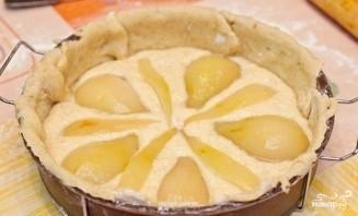 Грушевый пирог с миндалем - фото шаг 7