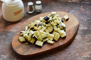 Овощное рагу с рисом и баклажанами - фото шаг 4