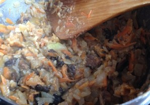 Суп из индейки с грибами - фото шаг 4