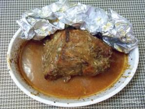 Свинина, запеченная в апельсиновом соусе - фото шаг 7