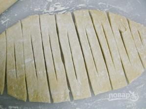 Быстрое тесто для хвороста - фото шаг 4
