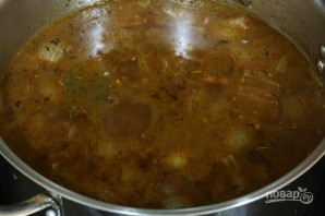 Сытное мясное рагу с овощами - фото шаг 11