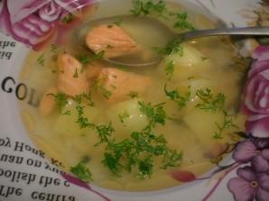 Суп из соленой красной рыбы - фото шаг 3