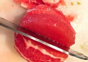 Салат с фенхелем, рукколой и апельсином - фото шаг 6
