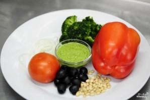 Салат из капусты брокколи - фото шаг 1
