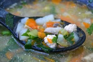 Диетический суп с сельдереем - фото шаг 9