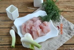 Фунчоза с курицей - фото шаг 2