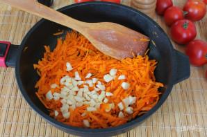 Перец фаршированный морковью на зиму - фото шаг 4