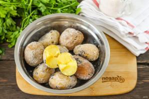 Картошка печеная в золе - фото шаг 4