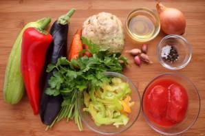 Овощная токана - фото шаг 1