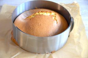 Лимонный торт с белковым кремом - фото шаг 8