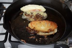 Сэндвич с карамелизированным луком - фото шаг 10