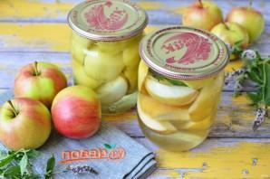 Яблоки в сиропе на зиму - фото шаг 9