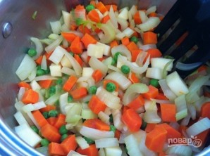 Суп из овощей с лапшой - фото шаг 2