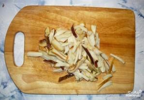 Курица с фасолью и грибами - фото шаг 4