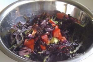 Салат с авокадо и шампиньонами - фото шаг 3